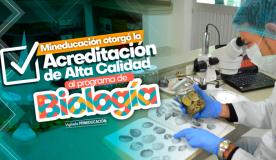 Ministerio de Educación Nacional otorgó Acreditación en Alta Calidad al Programa de Biología de Uniguajira